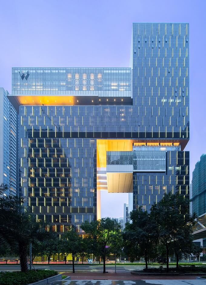 Rocco Design Architects Completed W Guangzhou Hotel