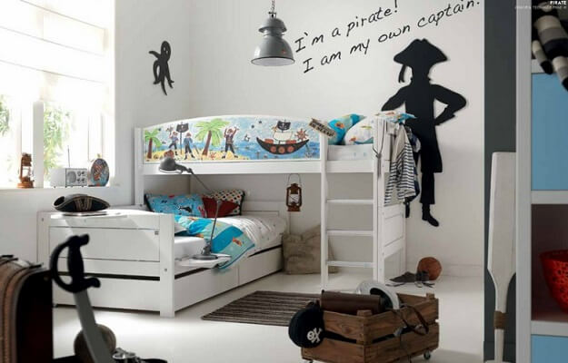 9 Original Themes To Design Exciting Kids' Rooms