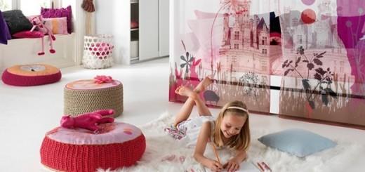 Wonderland-themed-bedroom
