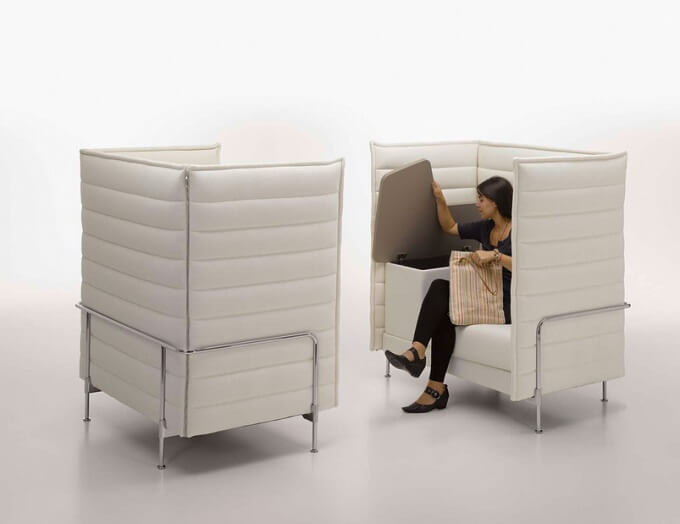 Alcove Highback Work Versatile Alcove Sofa Family from Vitra