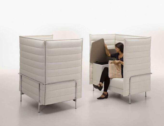 Versatile Alcove Sofa Family From Vitra Interior Design Design