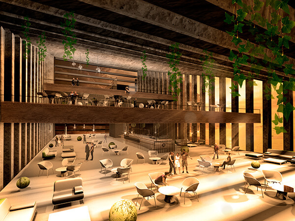 Unbalanced Hotel restaurants Outstanding Hotel Design to be Built in Lima, in front of the Pacific Ocean