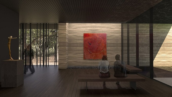 Windhover- Contemplative-Center-interior