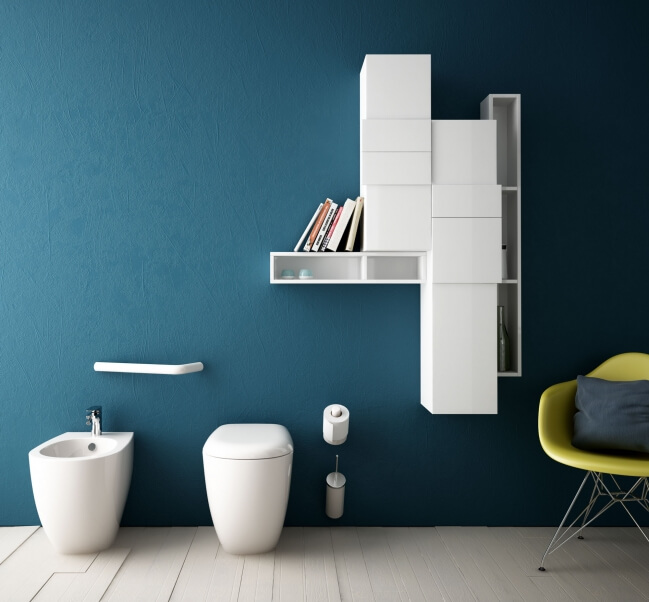 Bathroom furniture Play with the Unique Bathroom Furniture Set from ArtCeram