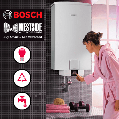 Bosh Westside Gas Vs. Electric Bosch Tankless Water Heater