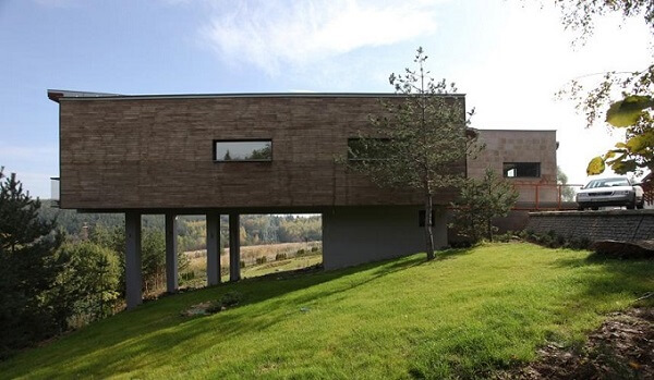 House architecture1 Lovely Single Family Residence Floating above the Ground