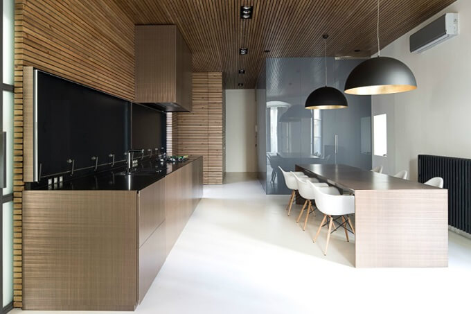 Modern kitchen renovation Contemporary Apartment Renovation in the Gothic Quarter, Barcelona