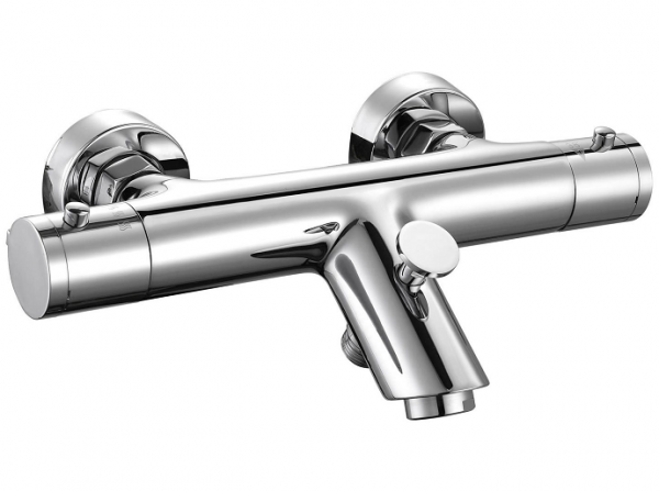 Round Bar Mixer with Bath Filler 600x447 Shower Kits – The Essentials
