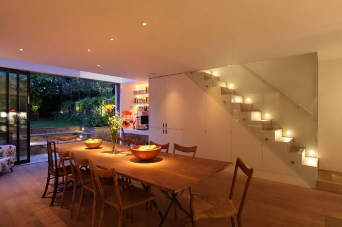 Soft lighting in dining room How to Spruce Up Your Dining Room