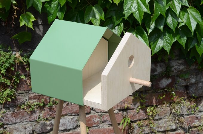 Surfin Bird, a Lovely Birdhouse by dreikant