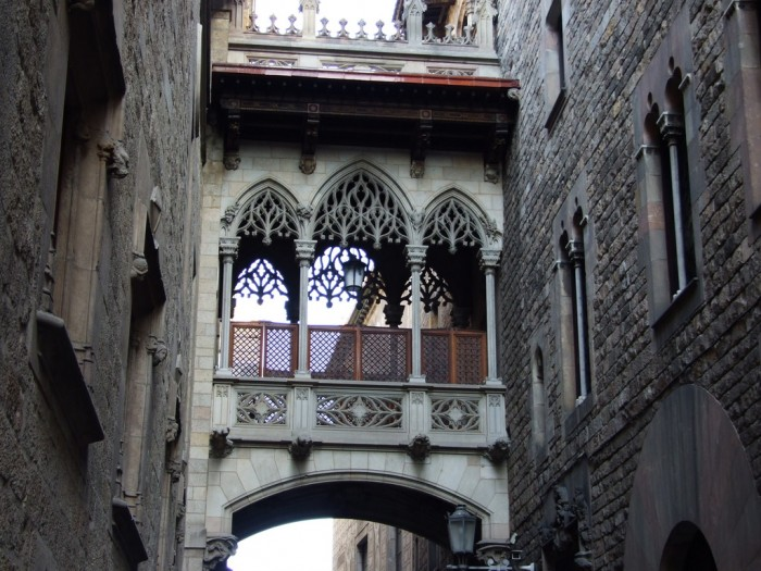 Gothic-Quarter-in-Barcelona