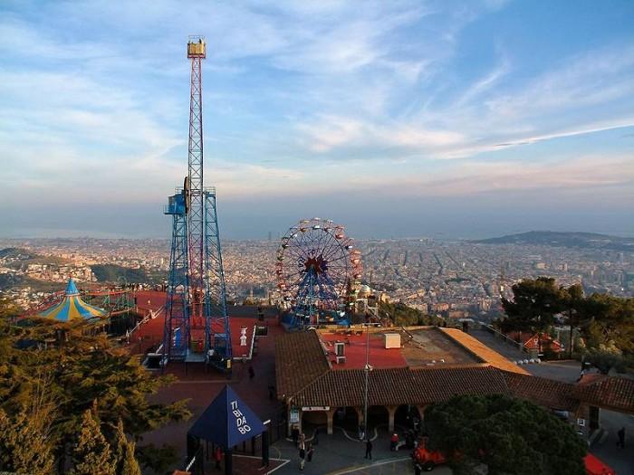 Tibidabo-Park-Barcelona