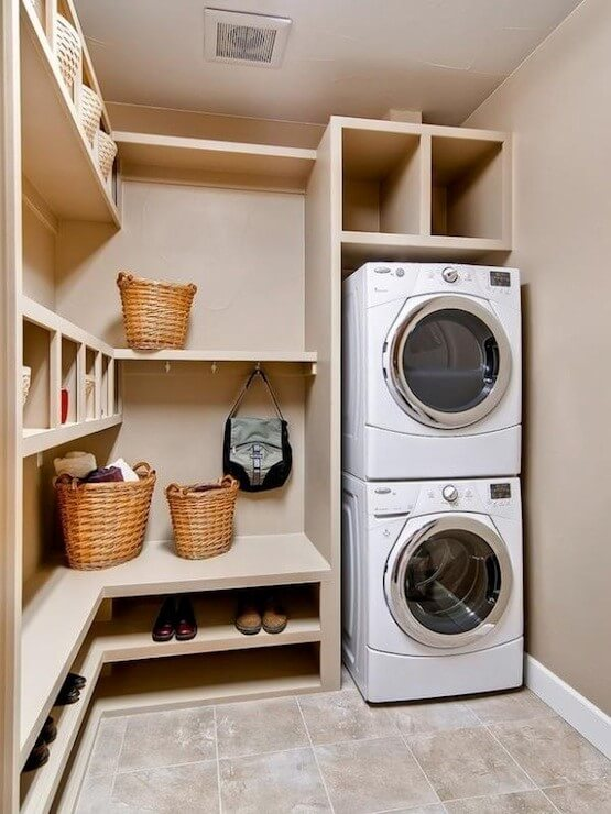 6 major differences between front loading and top loading washing machine interior design - Washing machine for small spaces gallery ...