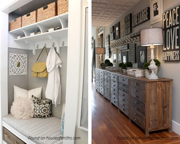 Stylish-Ideas-for-Decorating-Hallways - Furniture