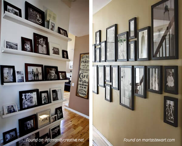 Stylish-Ideas-for-Decorating-Hallways - Walls