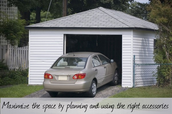 Maximize space accesories 600x399 How to Make the Most of a One Car Garage