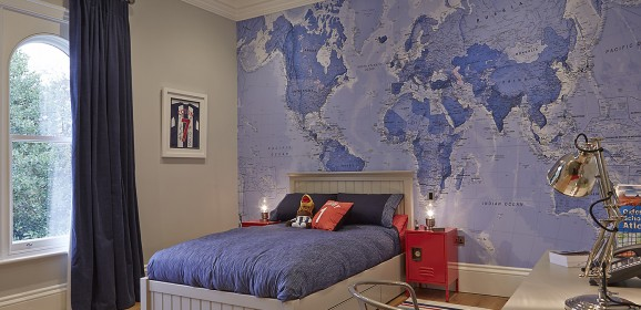 An educational, cool and stunning way to decorate your child's room