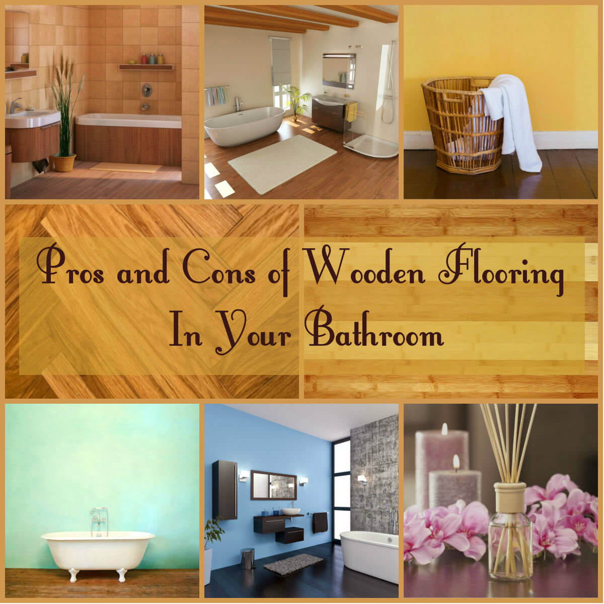Pros and cons of wooden flooring in your bathroom for Cherry flooring pros and cons
