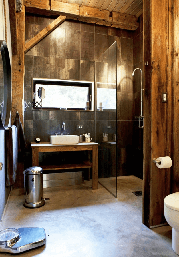 Rustic Industrial Bathrooms Interior Design Design News And Architecture Trends