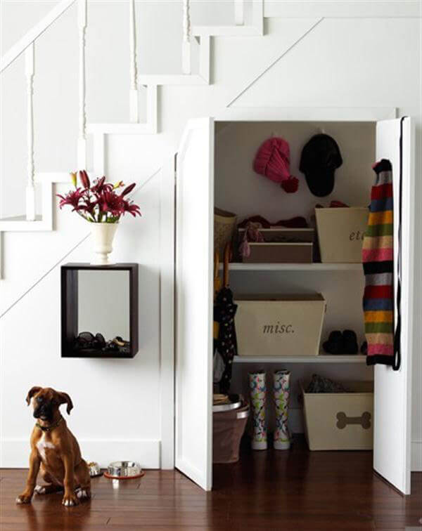 5 Creative Ideas To Use Space Under The Stairs Interior Design