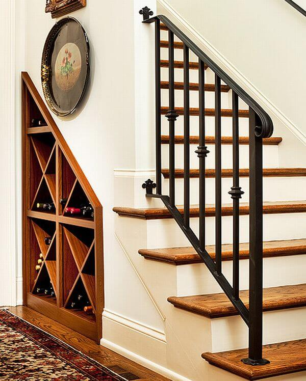How To Use Space Under The Staircases: 5 Creative Ideas To Use Space Under The Stairs