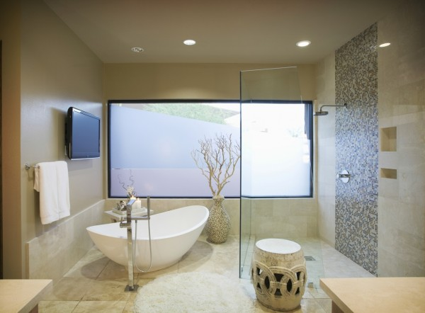 Shower Bathtub 1 600x442 Shower, Bathtub or Both?