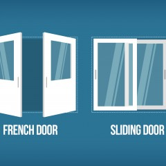 Sliding vs. French Patio Doors: What to Choose?