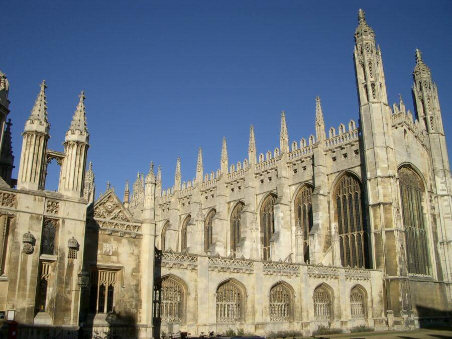 The King's College Chapel of Cambridge University