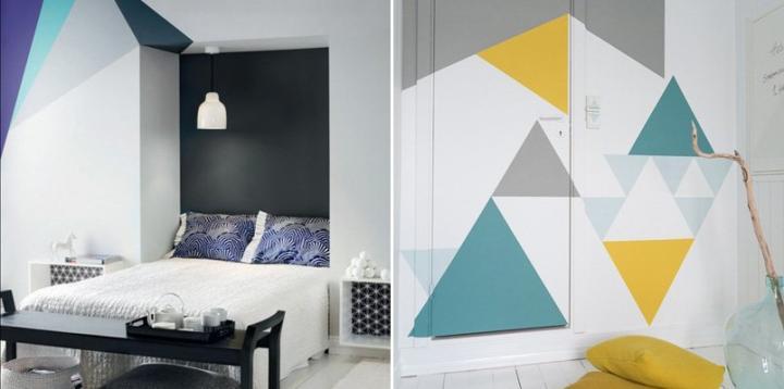 Geometric Interior Design decoration with geometric shapes – interior design, design news
