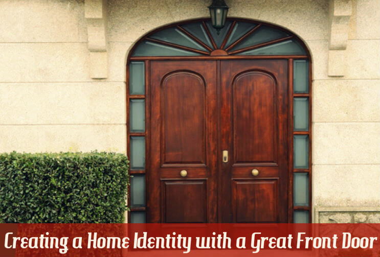 creating a home identity with a great front door interior design