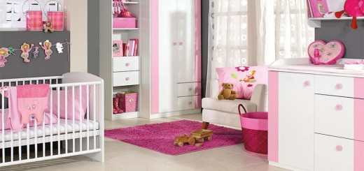 Pink-black-room-idea