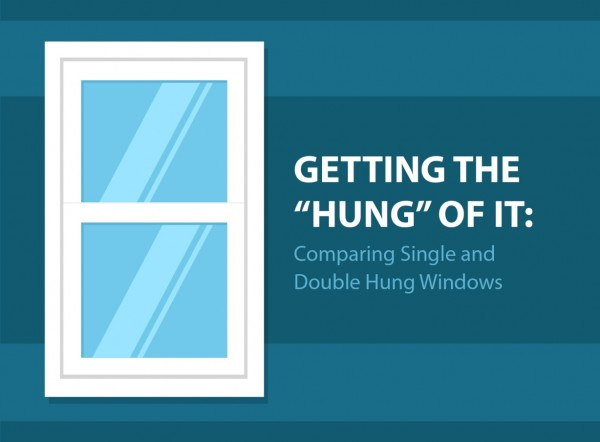 """Difference Between Single And Double Hung Windows : Getting the """"hung of it comparing single and double hung"""