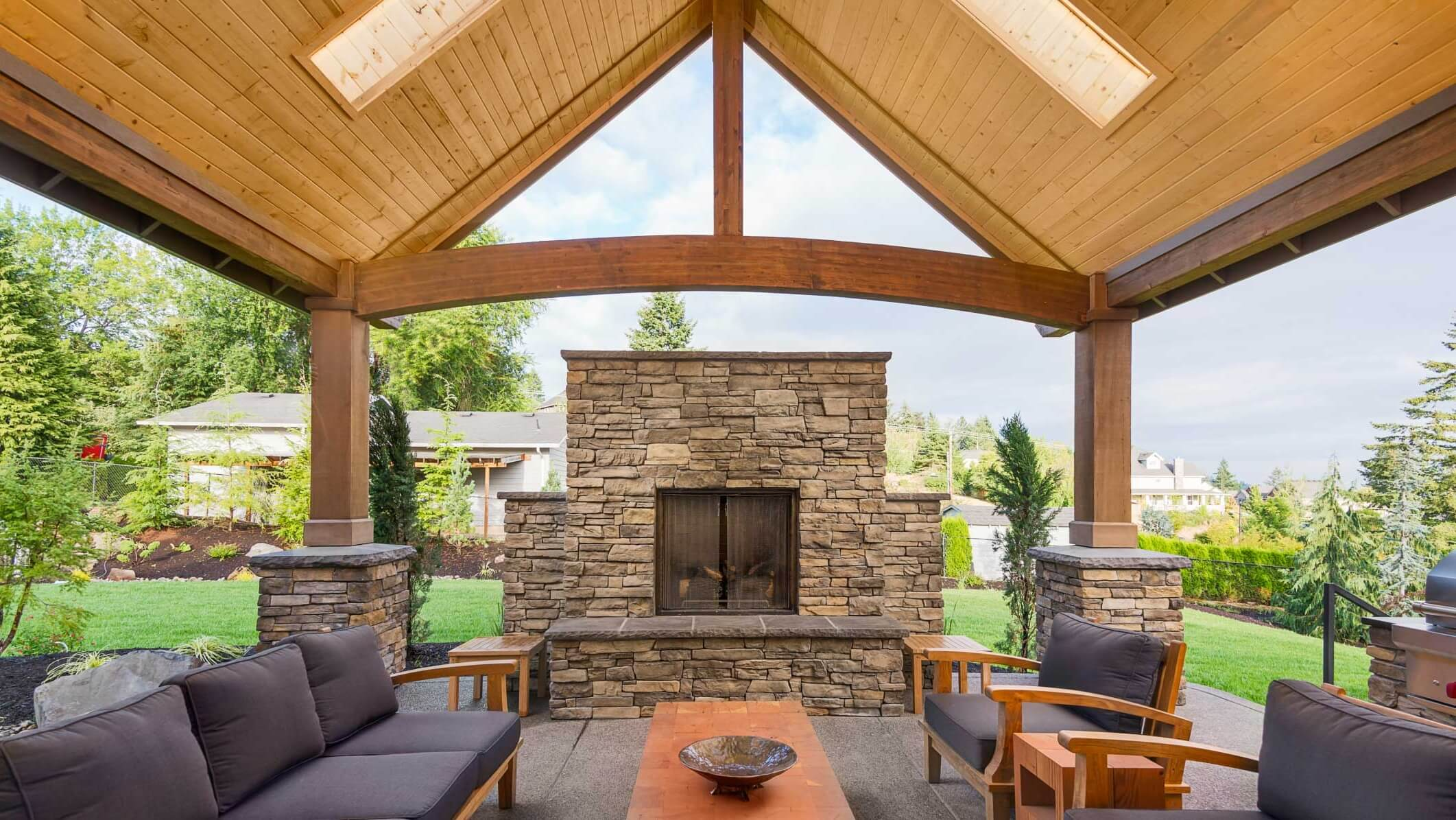 Make Your Patio Perfect with the Right Roof - Interior ... on Roof For Patio Ideas id=36661