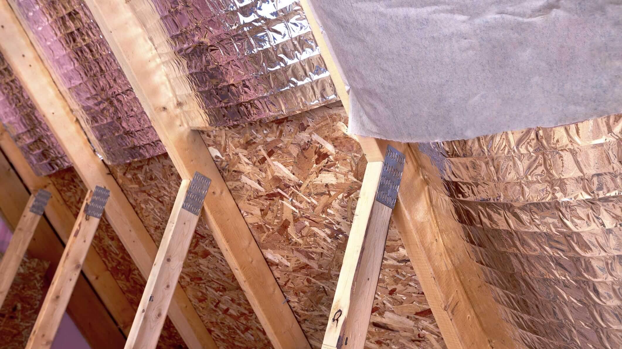 Как утеплять крышу если крыша уже сделана