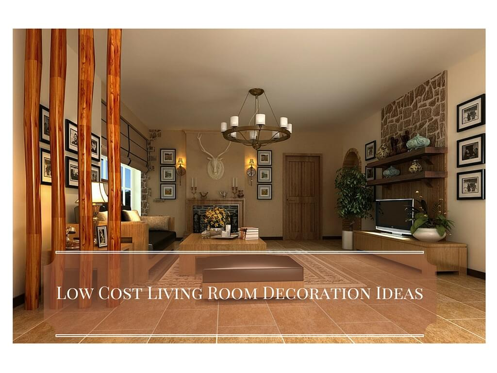 5 low cost living room decoration ideas archiweb 3 0 for Low cost living room design ideas