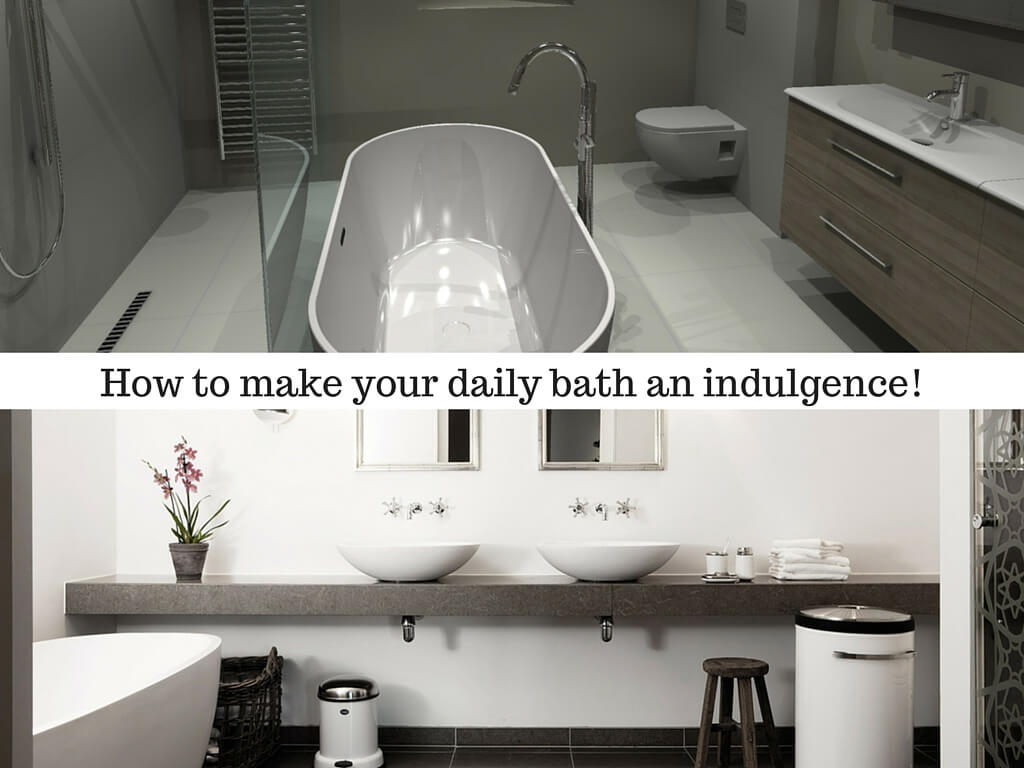 How To Make Your Daily Bath An Indulgence Interior Design Design News And Architecture Trends