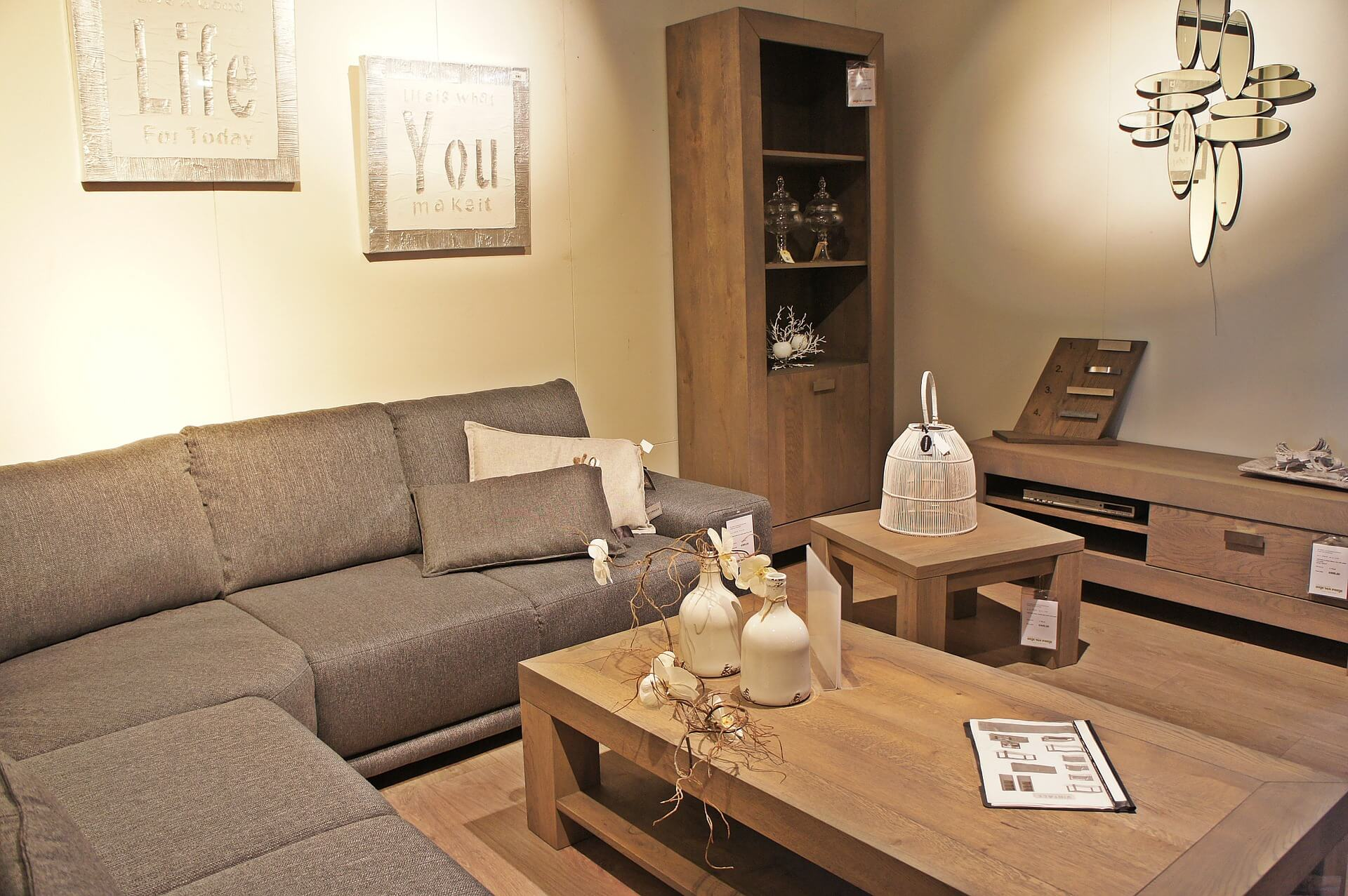 How to maximise storage space in a small room for Living room channel 10 codeword