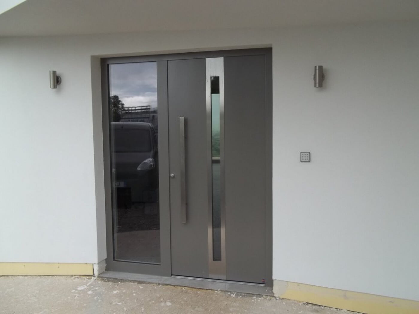5 advantages of owning an aluminium front door interior for 1200mm front door