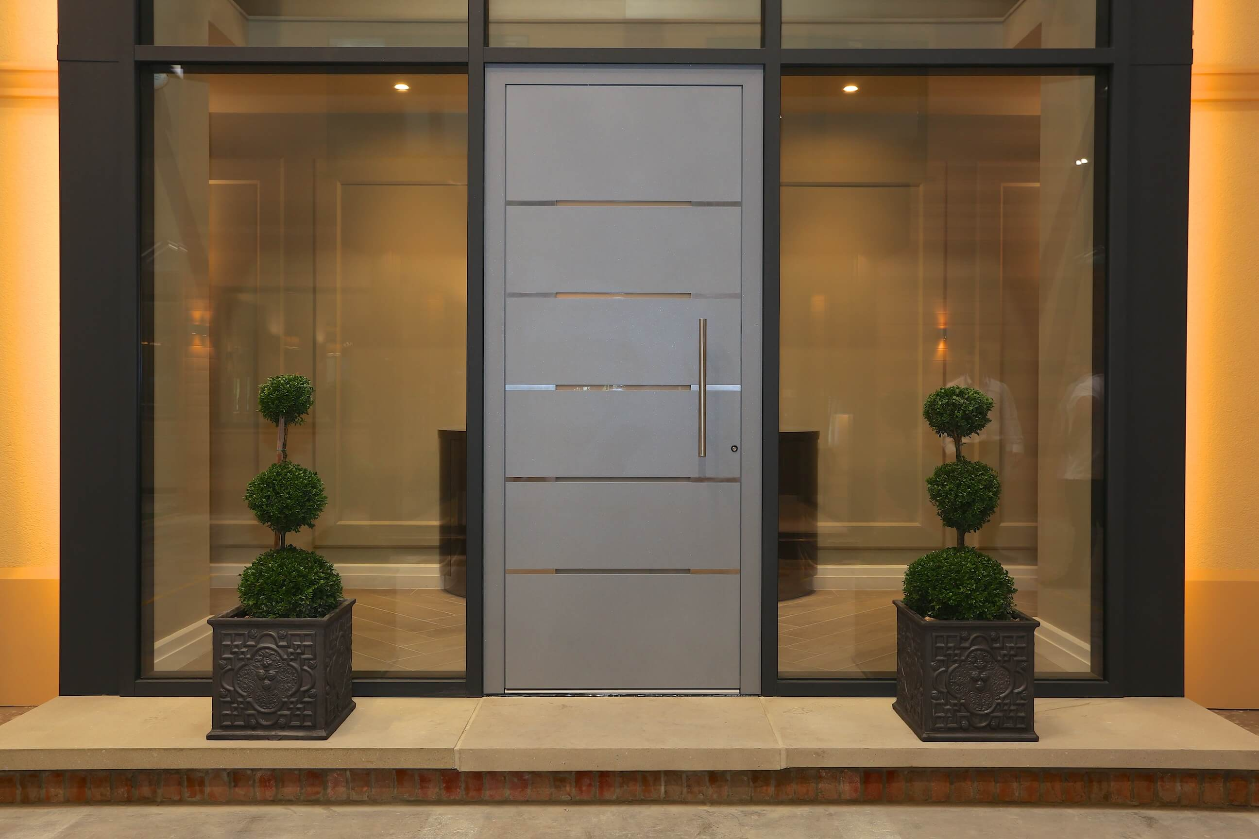 5 advantages of owning an aluminium front door interior for Front door insulation