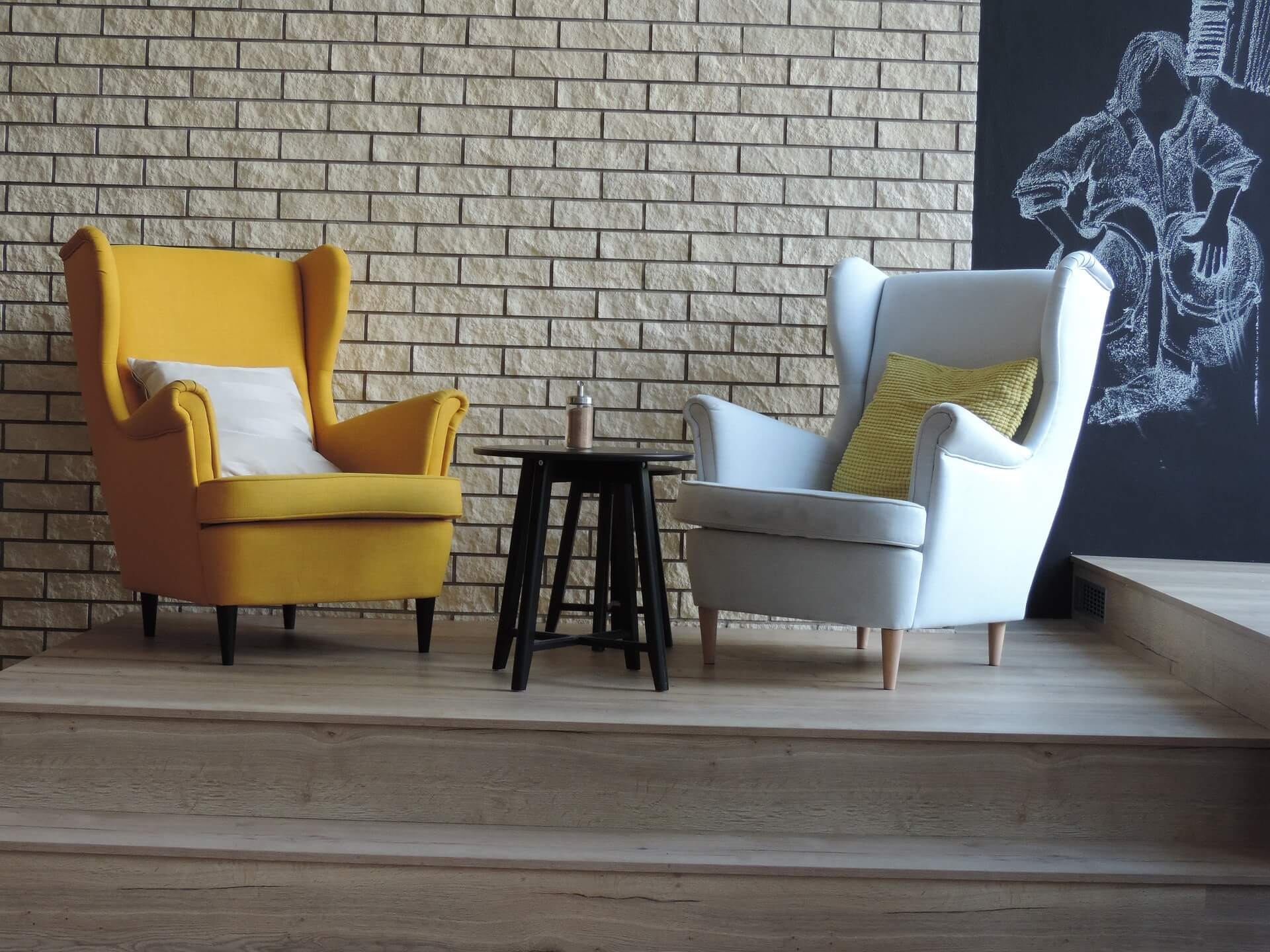 Modern armchair & Practical Home Design Tips for Mixing Antique with Modern Furniture ...