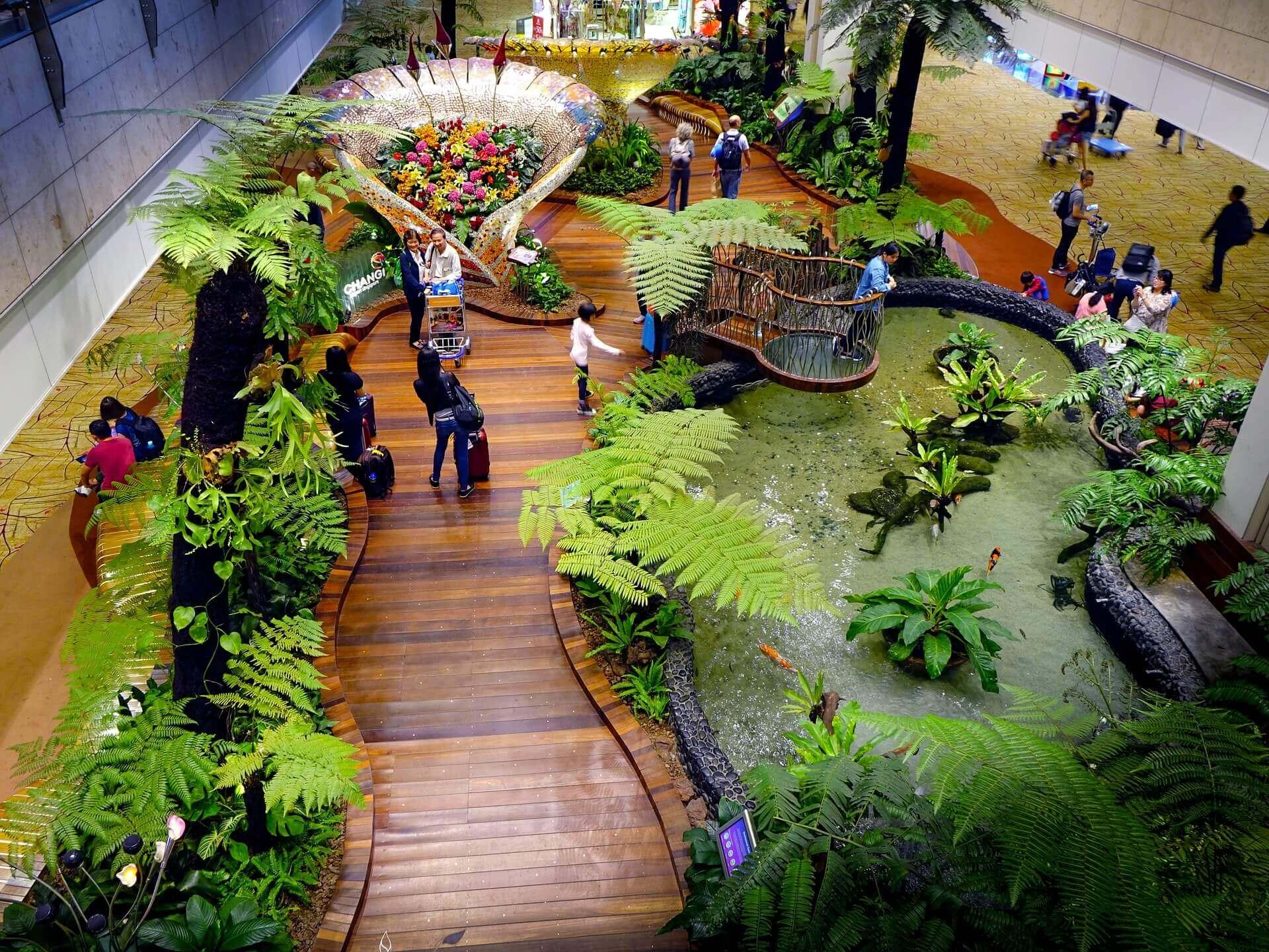 Singapore indoor gardem