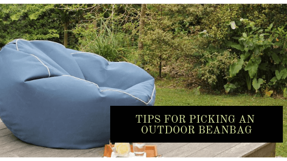 Peachy Tips For Picking An Outdoor Beanbag Interior Design Cjindustries Chair Design For Home Cjindustriesco