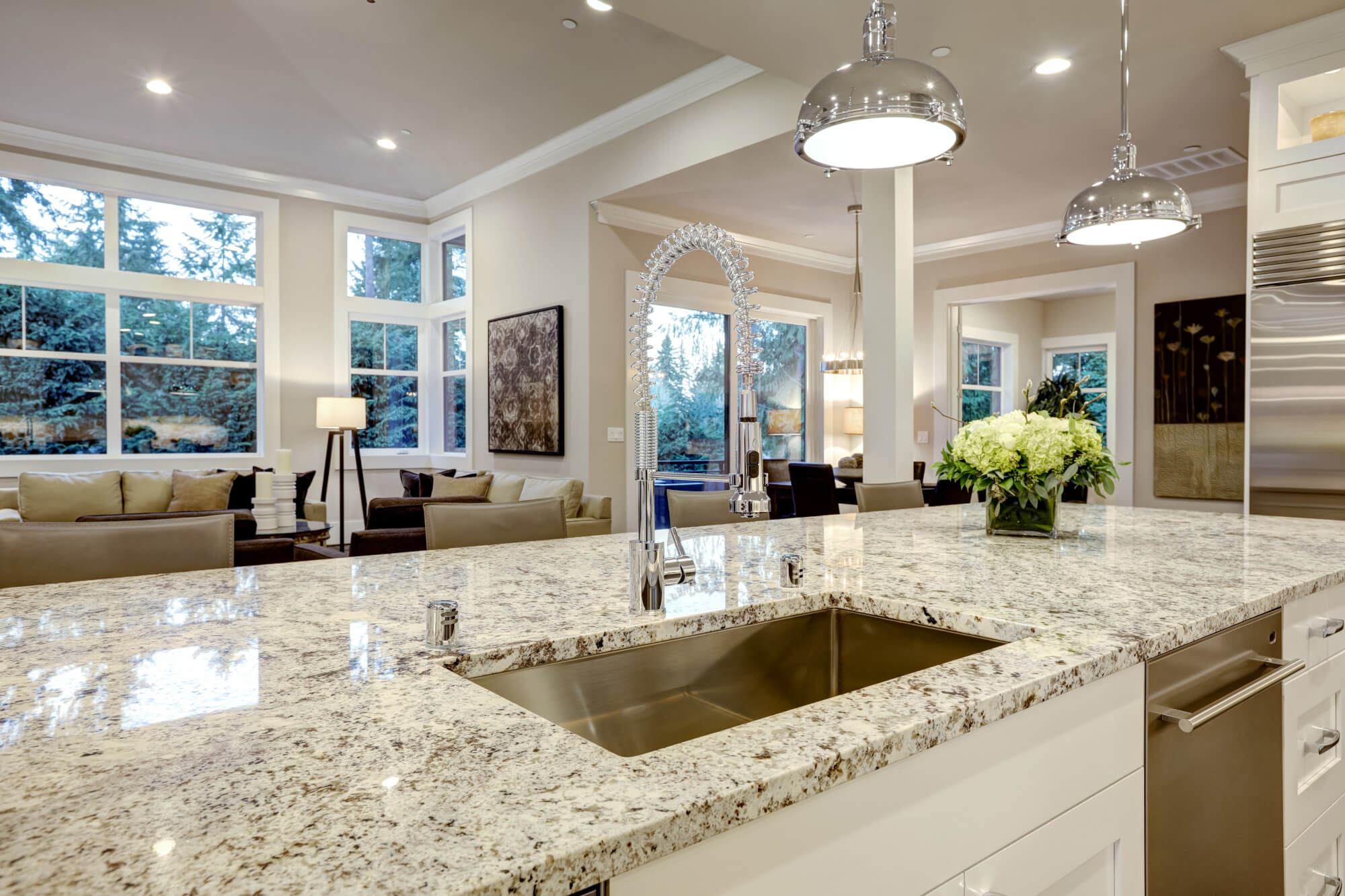 Granite Sinks Why Do You Need It In Your Kitchen And For Your Granite Countertop Interior Design Design News And Architecture Trends